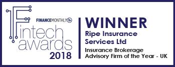 Fintech Awards Winner Ripe Insurance
