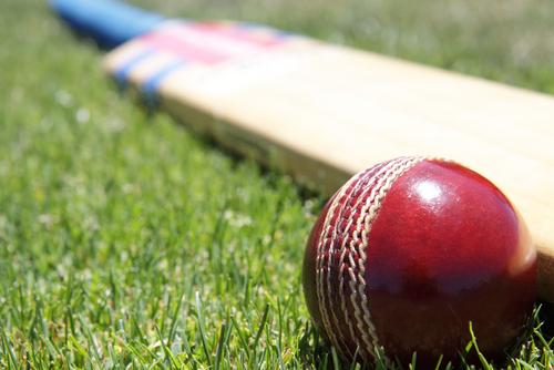 cricket-bat-and-ball-on-grass