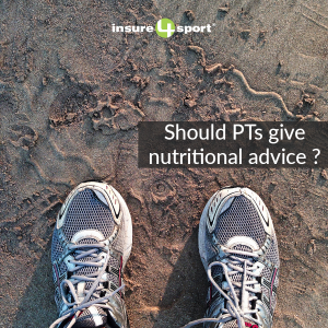 personal trainers nutritional advice