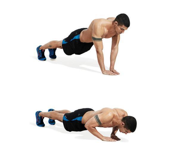 narrow push ups