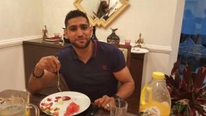 insure4sport feature on amir khan boxer diet food
