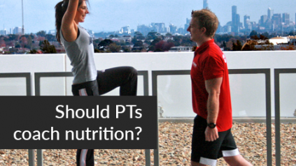 nutritional advice personal trainer insurance
