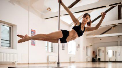 benefits of pole dancing