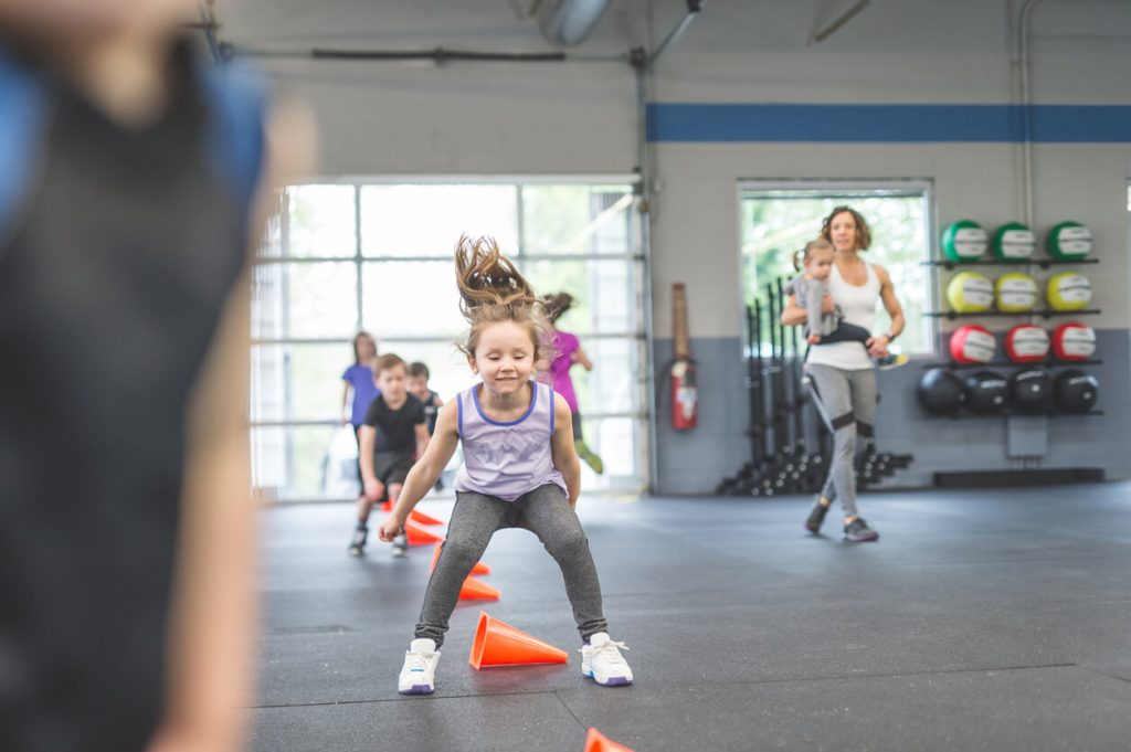 personal training with children